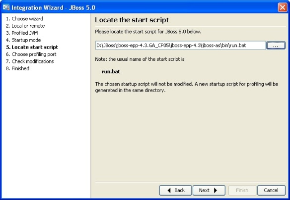 How to profile JBoss Application (EAP/EPP) Server using JProfiler